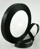 Satinband, Black 10mm