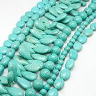 Howlite mix, 4-30mm