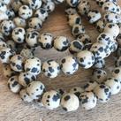 Dalmatin Jaspis matt, 8mm