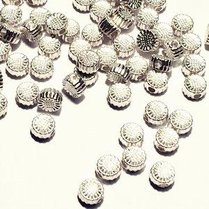 Metallpärlor 5x3mm Ø 1,5mm
