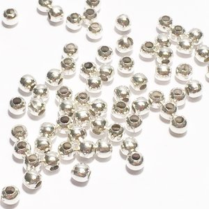 Metallpärlor 3mm Ø 1,5mm