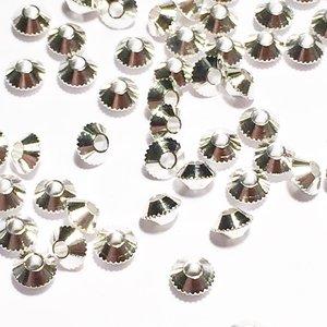 Metallpärlor 4mm Ø 1mm