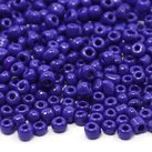 6/0 Seed Beads, 3-4mm, Opaque DeepBlue