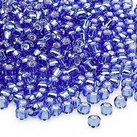 6/0 Seed Beads, 3-4mm, LightBlue S/L