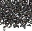 Hematit- Chips, 2-6mm utan hål