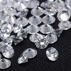 Kubic Zirkon, diamant, crystal, 4mm