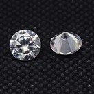 Kubic Zirkon, diamant, crystal, 2mm