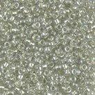 Miyuki sparkling celery lined crystal ab 8/0
