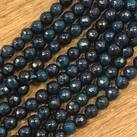 Agat,  midnattsblå, 6mm
