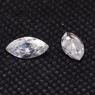 Kubic Zirkon, crystal, 4x2mm