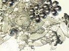 Metallmix hängen, Silver