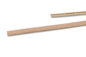 Konstläder ödla 5mm, guld beige