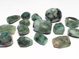 Smaragd, 10-15mm