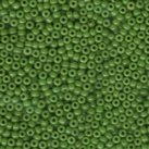 Miyuki Opaque jade green 8/0