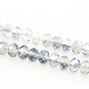 Glaskristall, 6x4mm