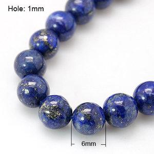 Lapis Lazuli, 6mm
