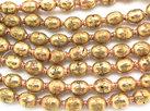 Mässing/ Koppar Prayer Beads 10-12x6mm