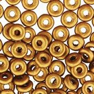 O Beads 3,8mm- Brass Gold