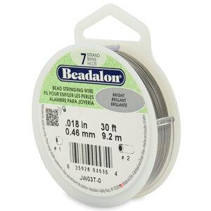 Beadalon, plastad wire 0,46mm