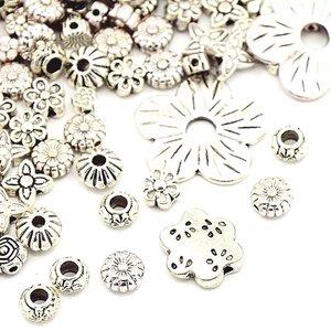 Metallmix blommor
