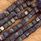 Lapis Lazuli, kub, 8mm