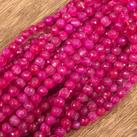 Agat,  rosa, 6mm