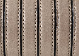 Grekiskt Platt Läderband 10x2,5mm, Beige