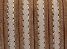 Grekiskt Platt Läderband 10x2mm, Natural/brun