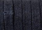 Platt Jeansklätt Band 10x2mm, Svart