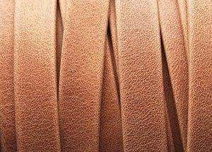 Grekiskt Läderband 10x1,5mm, Kamel
