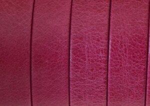 Grekiskt Läderband 10x1,5mm, Fuchsia