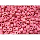 Keramikpärlor 6x4mm - Rosa