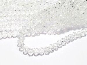 Glaskristall, Kristall, 6x4mm