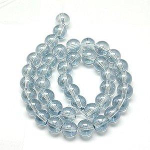 Glaskristall, runda 8mm