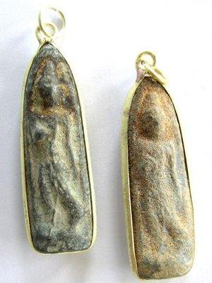 Buddha amulett, ca 40x12mm