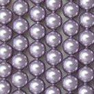 Shell Pearls, lila, 4mm
