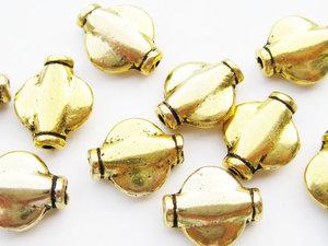 Metallpärlor 10x7mm