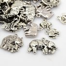 Metallmix elefanter