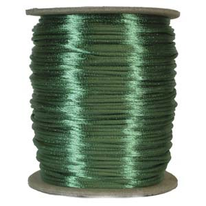 Satinband, Emerald 2mm