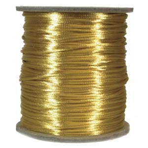 Satinband, Gold 2mm