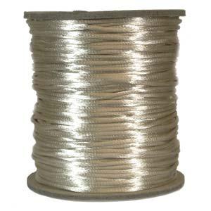 Satinband, Light beige 2mm