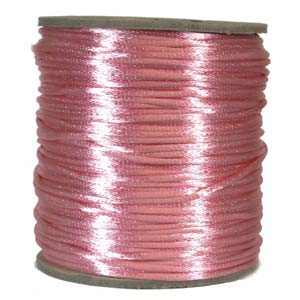 Satinband, Light pink 2mm