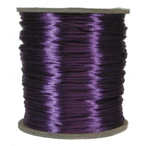 Satinband, Purple 2mm