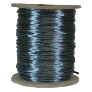 Satinband, Teal 2mm