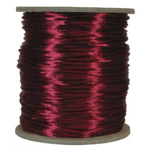 Satinband, Wine 2mm