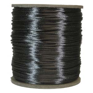 Satinband, Dark grey 2mm