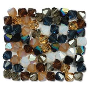 6 mm M.C. Bicone - Pebblestone