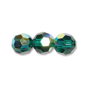 4 mm M.C. Round- Emerald AB