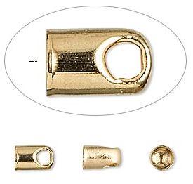 Fästen för 4mm, Guld