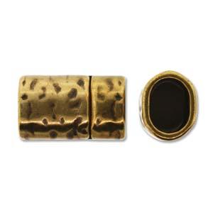 Kvalitétslås till Licorice - hamrad, brons (EU)